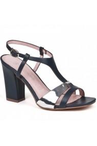 Sandale cu toc Carolina Boix Bleumarin 51371 Bleumarin