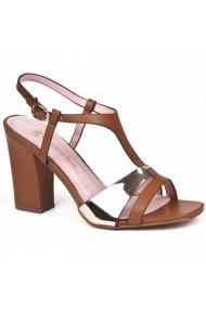 Sandale cu toc Carolina Boix Maro 51371 Maro