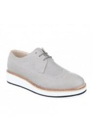 Pantofi Carolina Boix Gri 62055 Gri