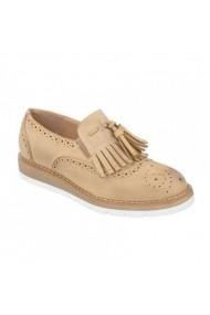 Pantofi Carolina Boix Camel S37 Camel
