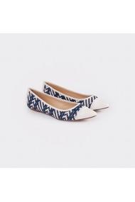 Pantofi Carolina Boix Alb 91501 Alb