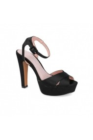 Sandale cu toc Carolina Boix Negru 61272 Negru