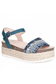 Sandale cu toc Carolina Boix 51544-jeans