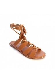 Sandale plate Carolina Boix Camel 41851 Camel