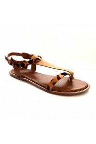 Sandale plate Carolina Boix Camel 41852 Camel