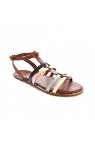 Sandale plate Carolina Boix Bej 41853 Bej