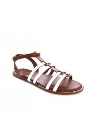 Sandale plate Carolina Boix Alb 41853 Alb