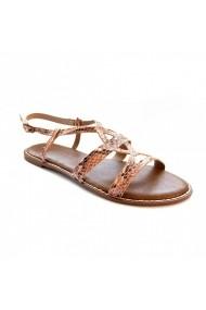 Sandale plate Carolina Boix Nude 41856 Nude