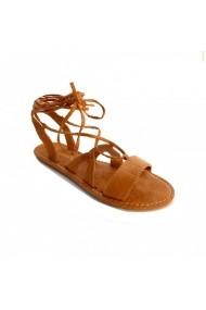 Sandale plate Carolina Boix Bej 41860 Bej