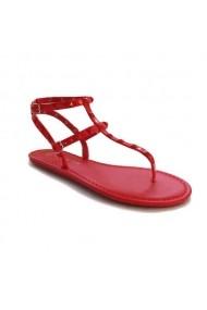 Sandale plate Carolina Boix Rosu 41862 Rosu