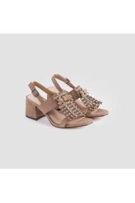 Sandale cu toc Carolina Boix Maro 61192 Maro