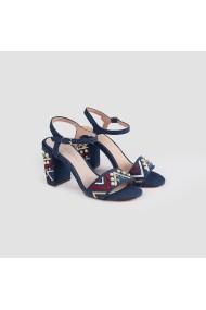 Sandale cu toc Carolina Boix 61230-jeans
