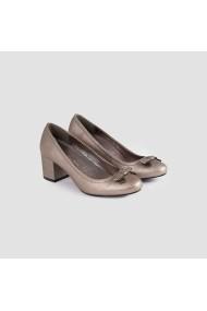 Pantofi cu toc Carolina Boix Gri 51290 Gri