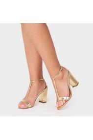 Sandale cu toc Carolina Boix Auriu 4009940 Auriu