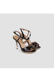 Sandale cu toc Carolina Boix Negru 928004 Negru