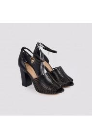Sandale cu toc Carolina Boix Negru 4111491 Negru