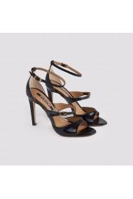 Sandale cu toc Carolina Boix Negru 578250-3 Negru