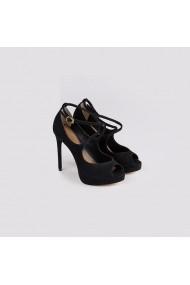 Sandale cu toc Carolina Boix Negru 578252-3 Negru