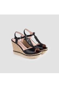 Sandale cu toc Carolina Boix Negru 51484 Negru