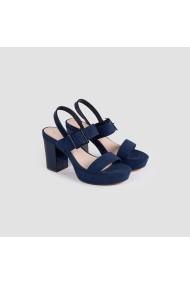 Sandale cu toc Carolina Boix Bleumarin 51744 Bleumarin
