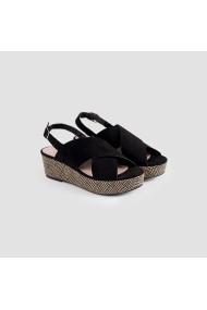 Sandale plate Carolina Boix Negru 51694 Negru