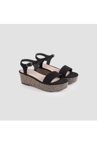Sandale plate Carolina Boix Negru 51690 Negru