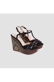 Sandale cu toc Carolina Boix Negru 51442 Negru