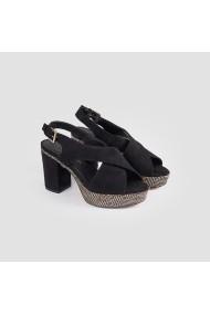 Sandale cu toc Carolina Boix Negru 51746 Negru