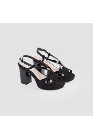 Sandale cu toc Carolina Boix Negru 51748 Negru