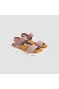 Sandale plate Carolina Boix Nude Libertad01 Nude