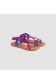 Sandale plate Carolina Boix Turcoaz ppn-01 Turcoaz