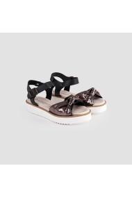 Sandale cu toc Carolina Boix Negru pbn-01 Negru