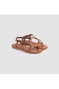 Sandale plate Carolina Boix Camel pft-05 Camel
