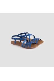 Sandale plate Carolina Boix Albastru pft-01 Albastru
