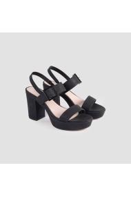 Sandale cu toc Carolina Boix Negru 51745 Negru