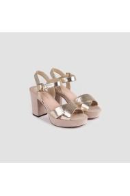 Sandale cu toc Carolina Boix Auriu 51741 Auriu