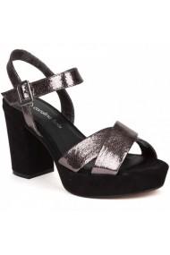 Sandale cu toc Carolina Boix Gri 51741 Gri