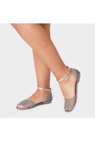 Sandale plate Carolina Boix Argintiu 760000 Argintiu