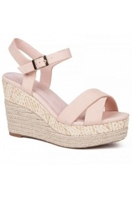 Sandale cu toc Carolina Boix Nude 51463 Nude