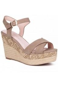 Sandale cu toc Carolina Boix Maro 51463 Maro