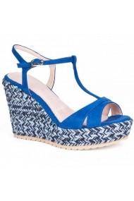 Sandale cu toc Carolina Boix Albastru 51483 Albastru