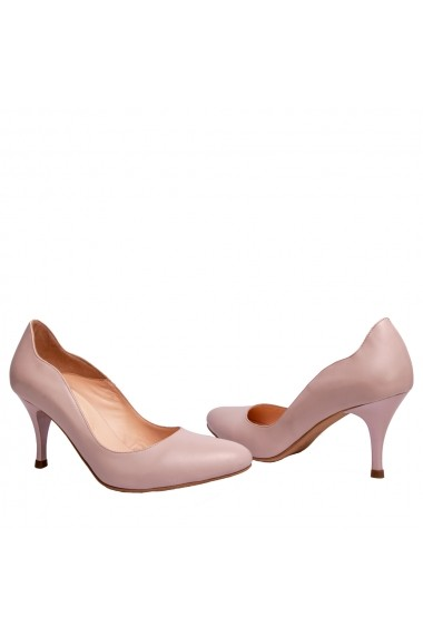 Pantofi cu toc Veronesse 306/124 Roz