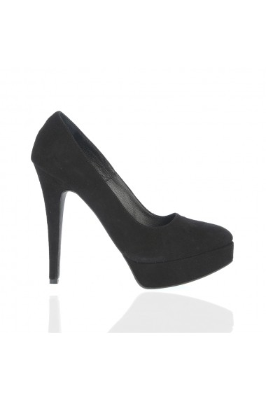 Pantofi cu toc Veronesse 336/641/1 Negru