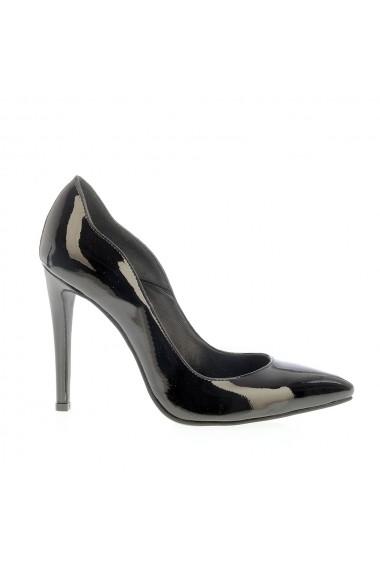 Pantofi cu toc Veronesse 413 Negru