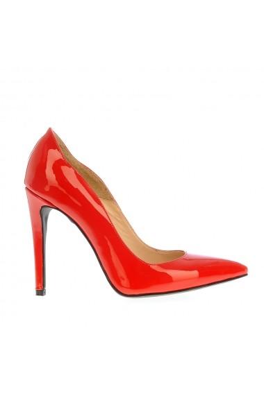 Pantofi cu toc Veronesse 413 Rosu