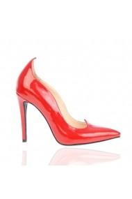 Pantofi cu toc Veronesse 418 Rosu