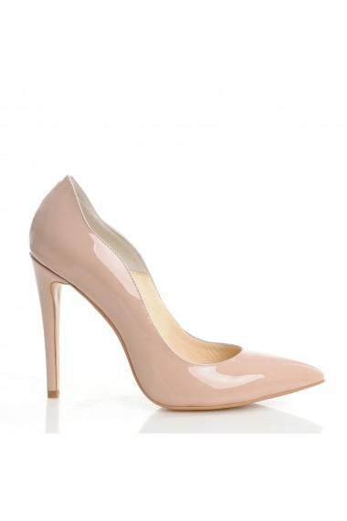 Pantofi cu toc Veronesse 413 Nude