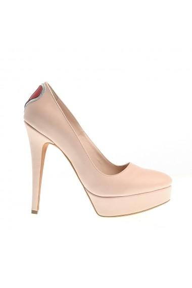 Pantofi cu toc Veronesse Love 336 Nude