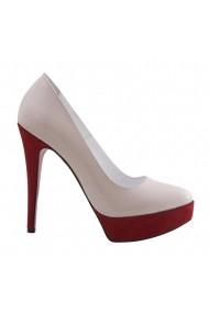 Pantofi cu toc Veronesse 336/1/641 Nude