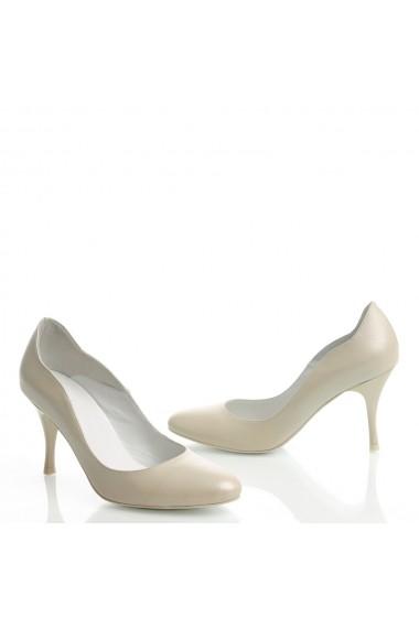 Pantofi cu toc Veronesse 306/124 Ivory